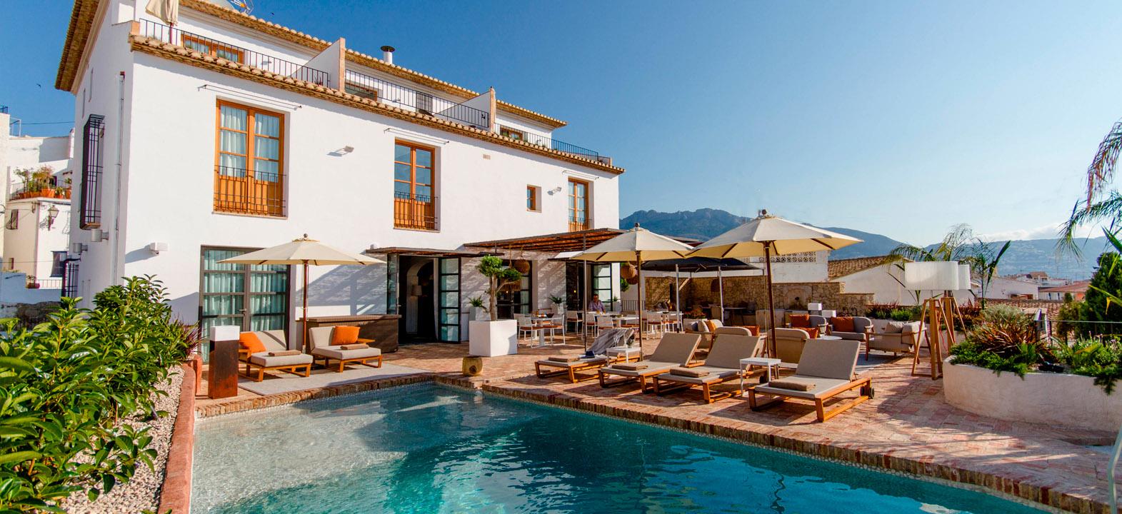 Boutique hotel in altea costa blanca hotel la serena for Best boutique hotels in la